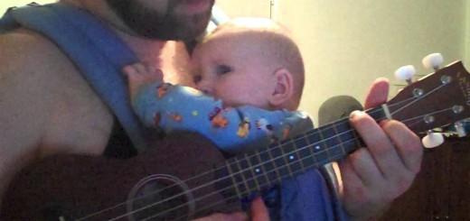 Pai leva filho do choro ao sono profundo ao som de Hallelujah em menos de 2 minutos