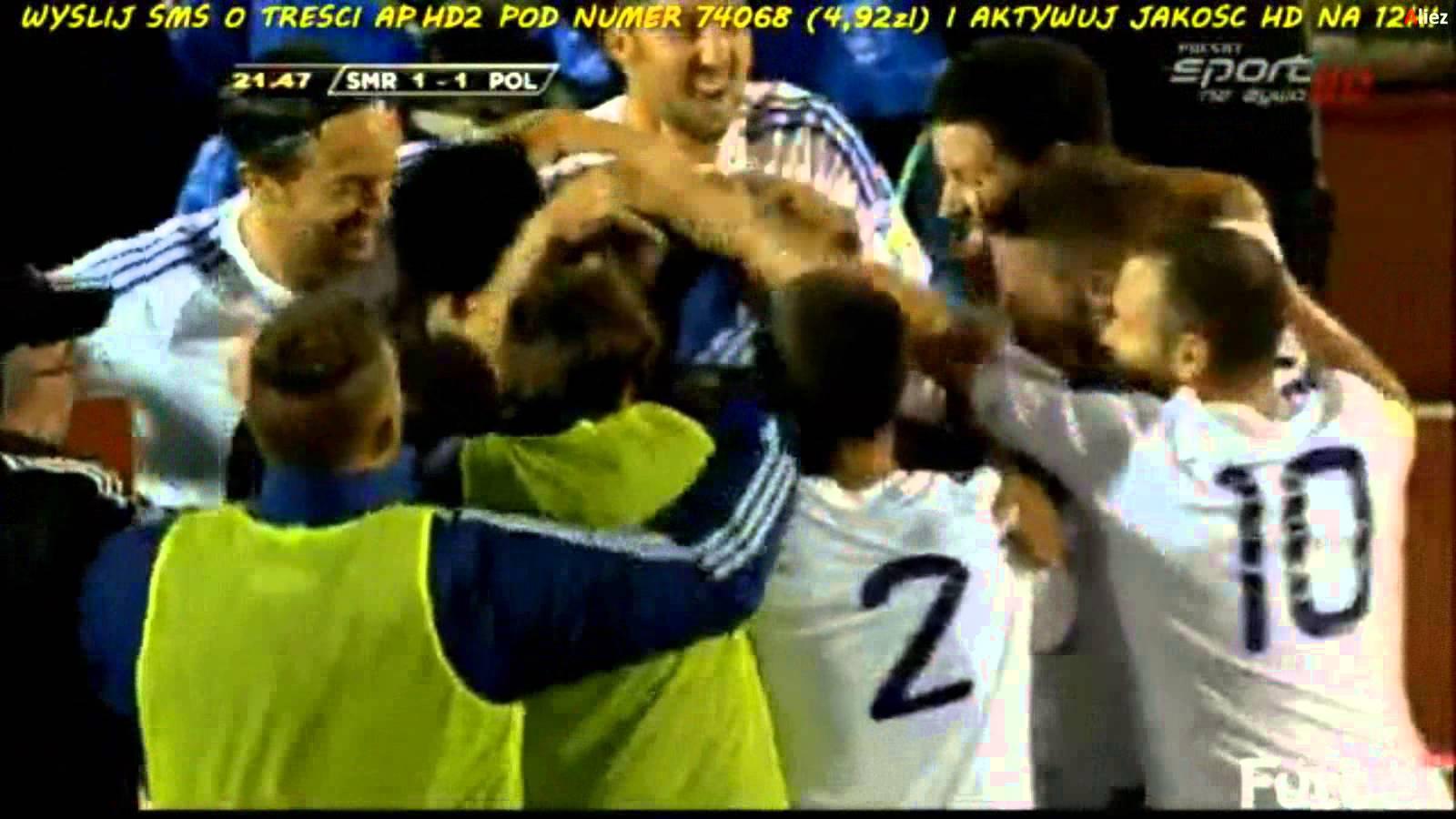 Após 5 anos a selecção do San Marino volta a marcar um golo