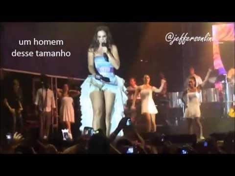 Ivete Sangalo tira telemóvel a fã que tirava fotos das suas partes íntimas durante um concerto