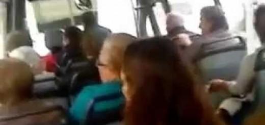 LOL, peixeirada no autocarro