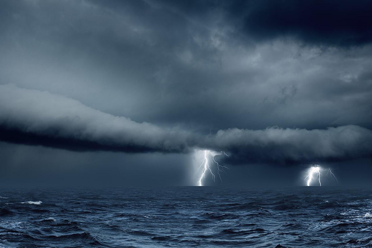 tempestades em alto mar