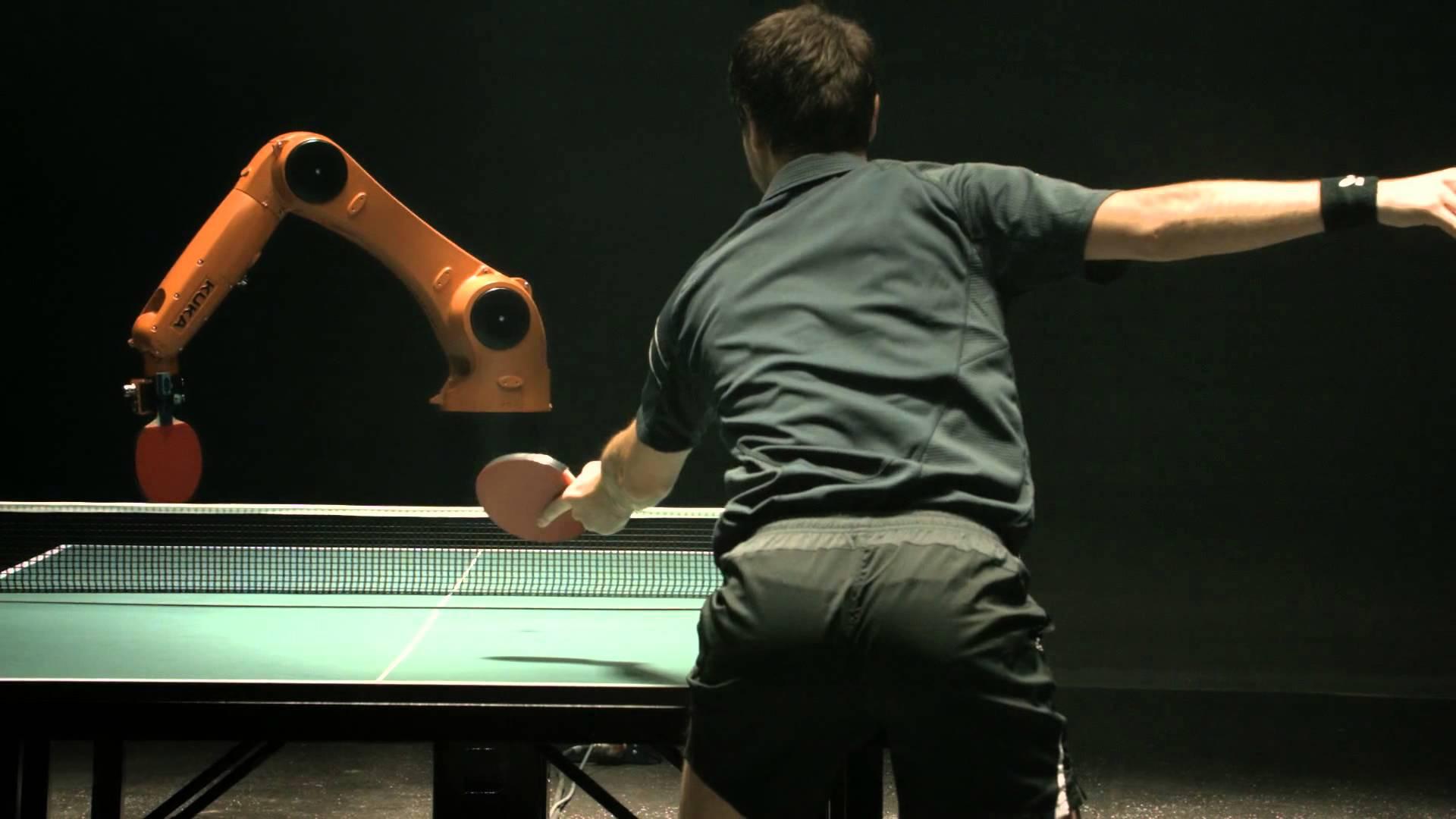 Quem ganha a partida de ping pong: o humano ou o robô?
