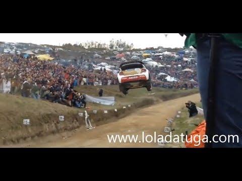 WRC Portugal salto brutal em Fafe