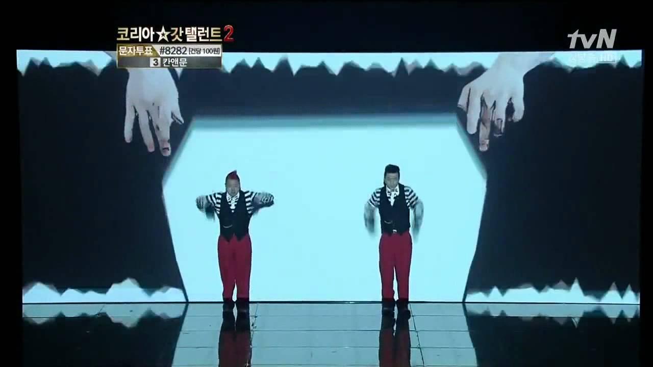 Dança espetacular no Korea Got Talent