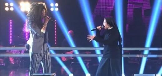 Freira volta a arrasar no The Voice ao cantar Girls Just Wanna Have Fun