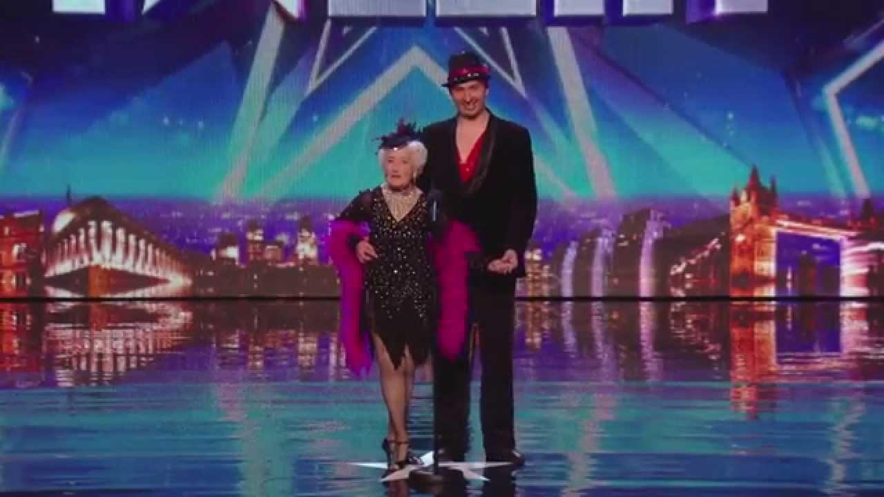 Idosa deixa júri do Britain's Got Talent de boca aberta