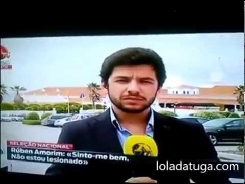 Gafe jornalistica no canal abolatv