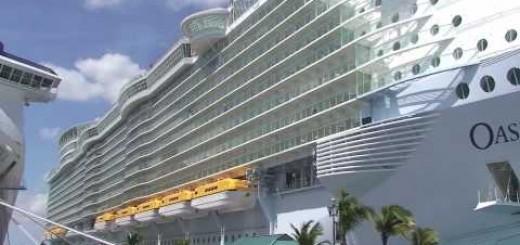 O maior e mais luxuoso cruzeiro do mundo