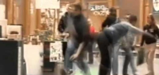 Ladrão travado por um ninja