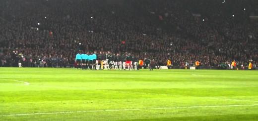 Recepção do Cristiano Ronaldo em Manchester
