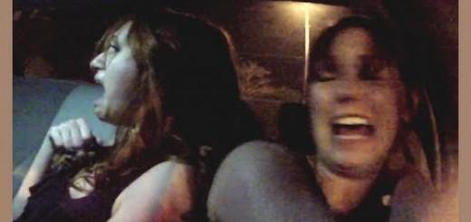 Mulheres quase morrem de susto em viagem de táxi