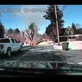 Conduta de gás explode