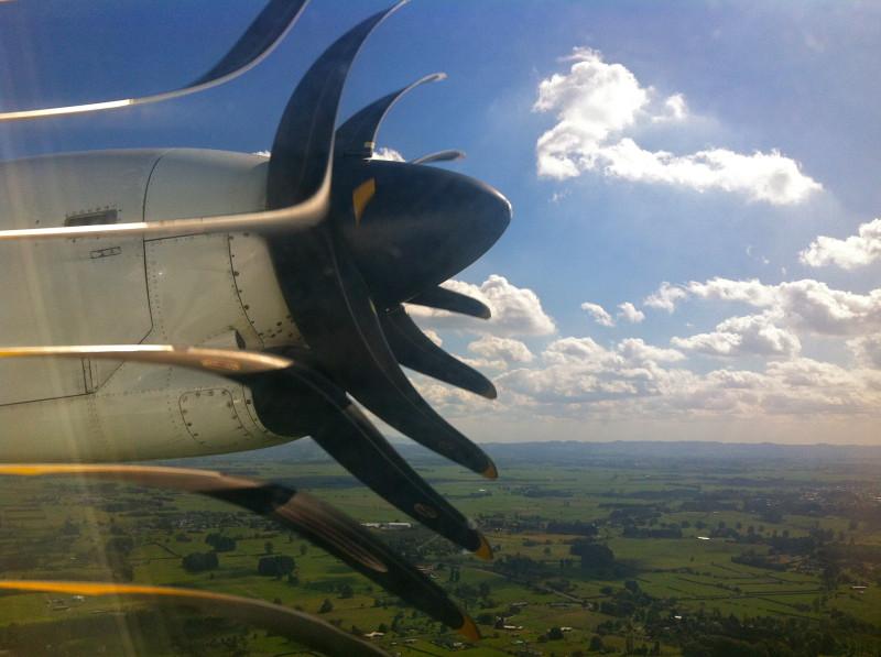 Turbulência em avião provoca o pânico