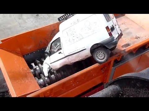 Trituradora de carros