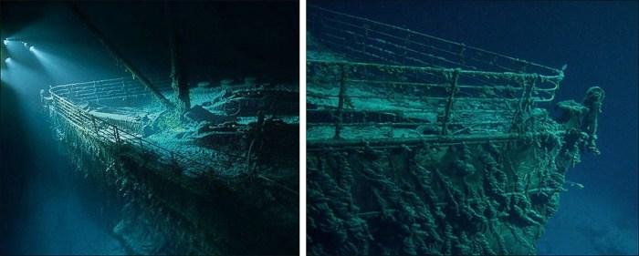 RMS Titanic proa
