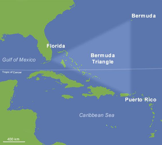 triangulo das bermudas
