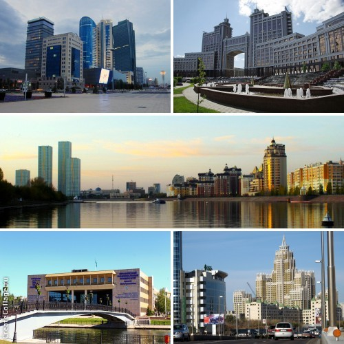 Maiores países do mundo - Cazaquistão