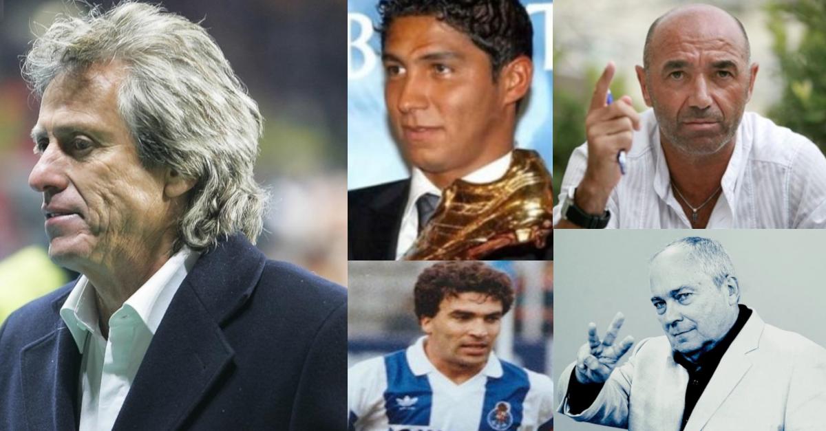 futebol português frases inesquecíveis de jorge jesus, gabriel alves, joão pinto, jardel, jaime pacheco